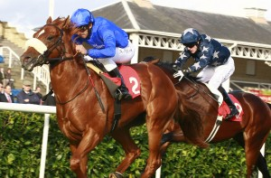 doncaster racecourse moonstone winning on st leger day